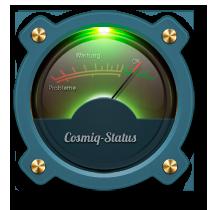 Aktueller Status von COSMiQ.de