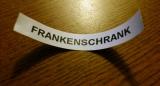 Wartungsarbeiten am Frankenschrank (09. und10.04.2015)